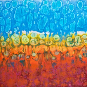 En Profondeur Acrylic on canvas 24x24 inches 2015